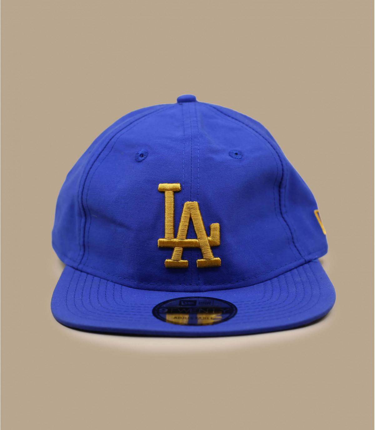 gorra LA plegable azul