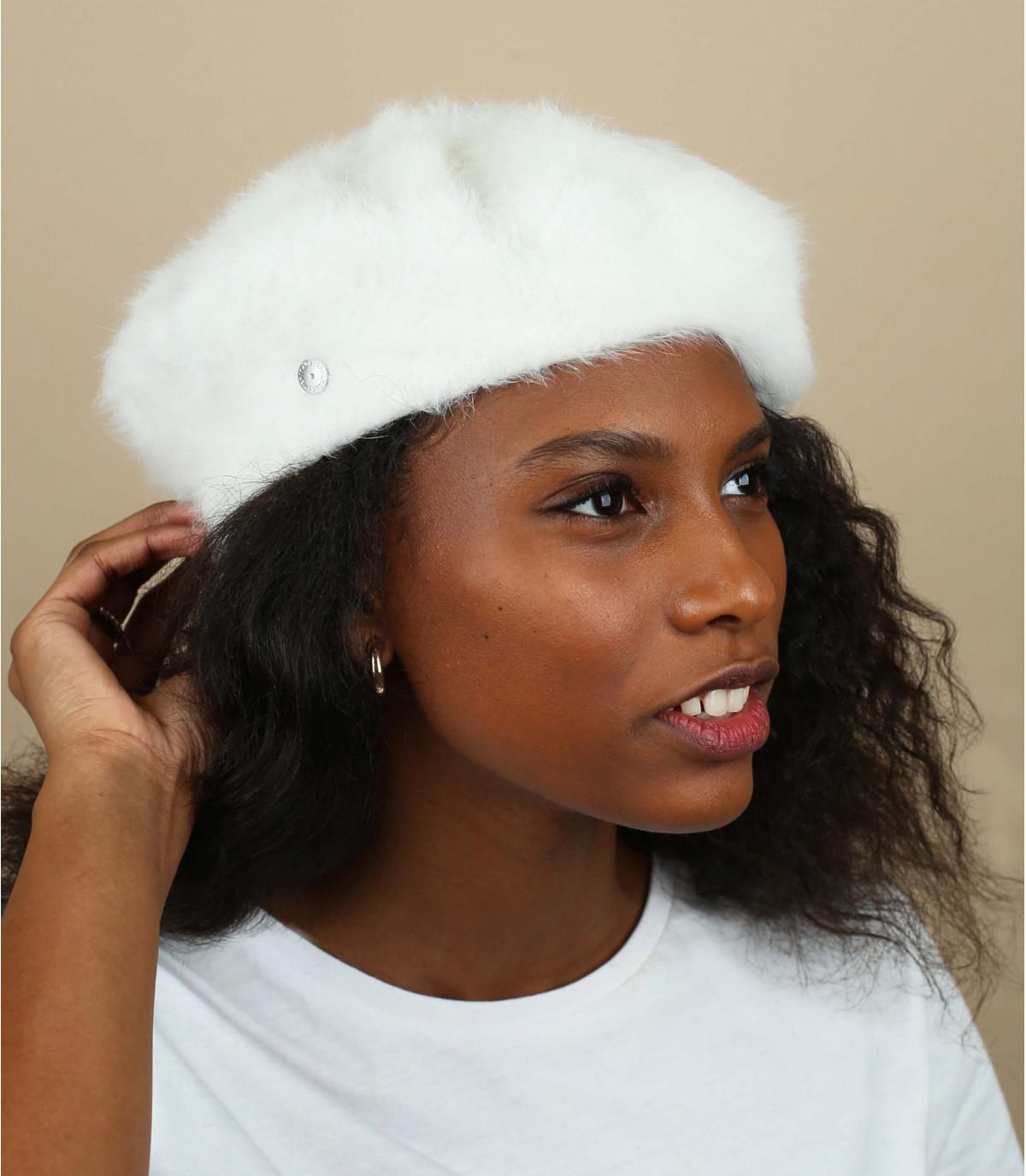 angora boina blanca Laulhère