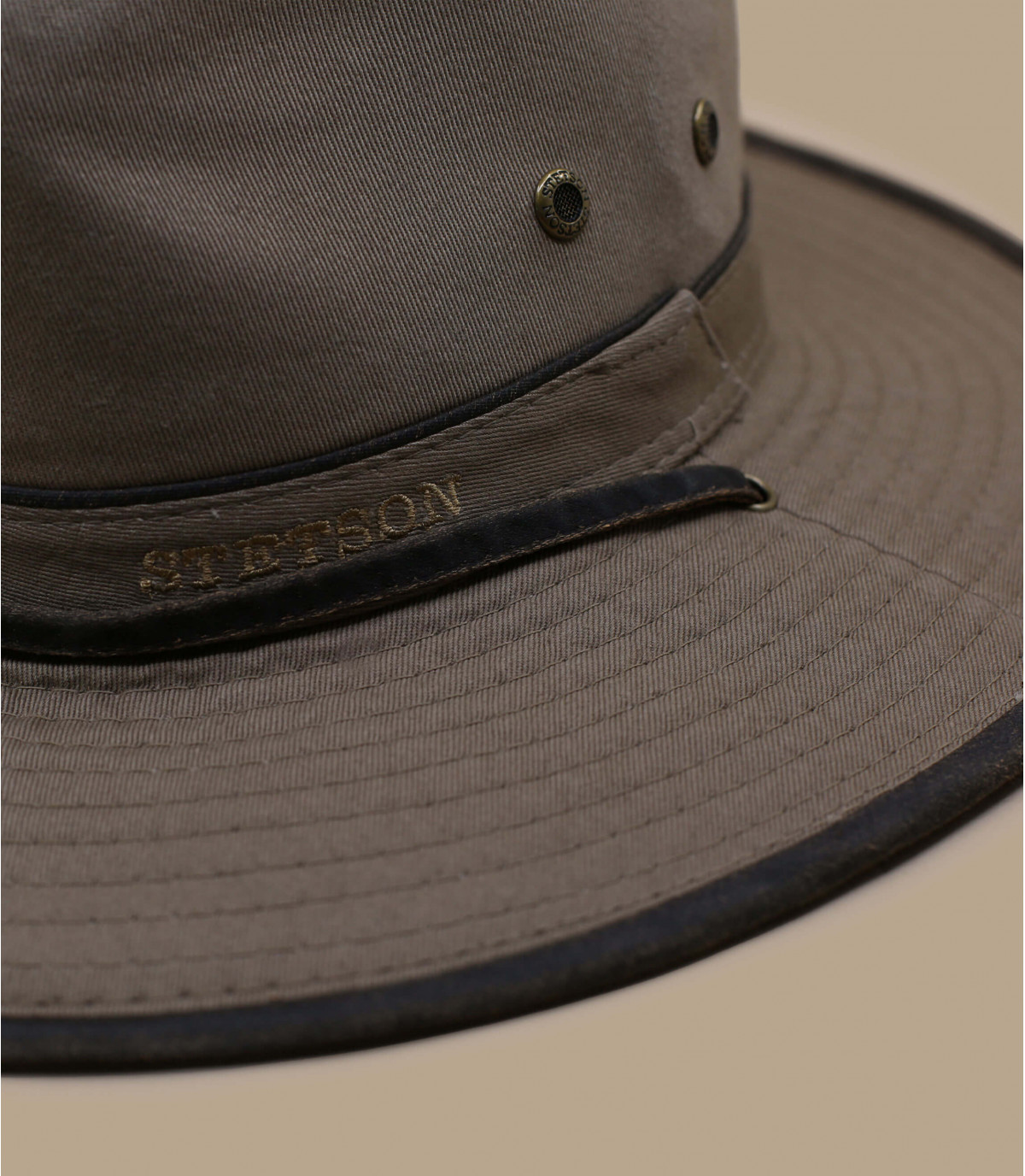 Detalles Traveller Cotton brown imagen 2