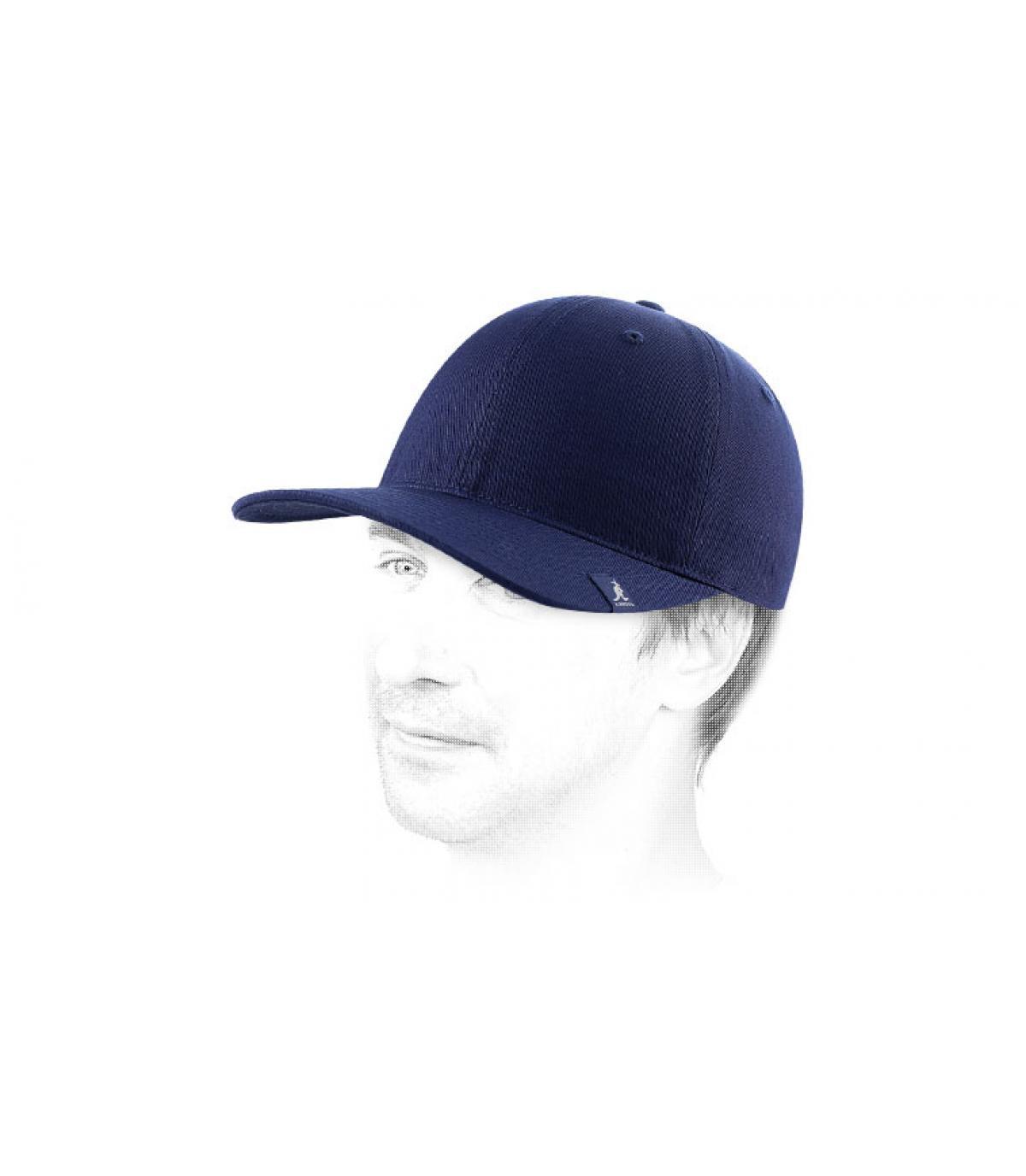 Gorro baseball azul marine