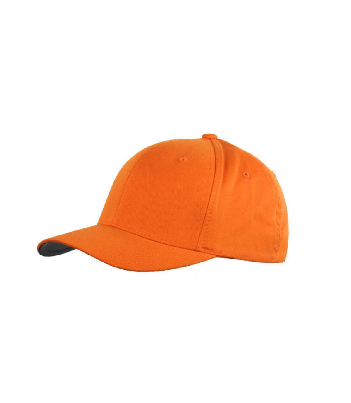 Detalles Flexfit cap orange imagen 2