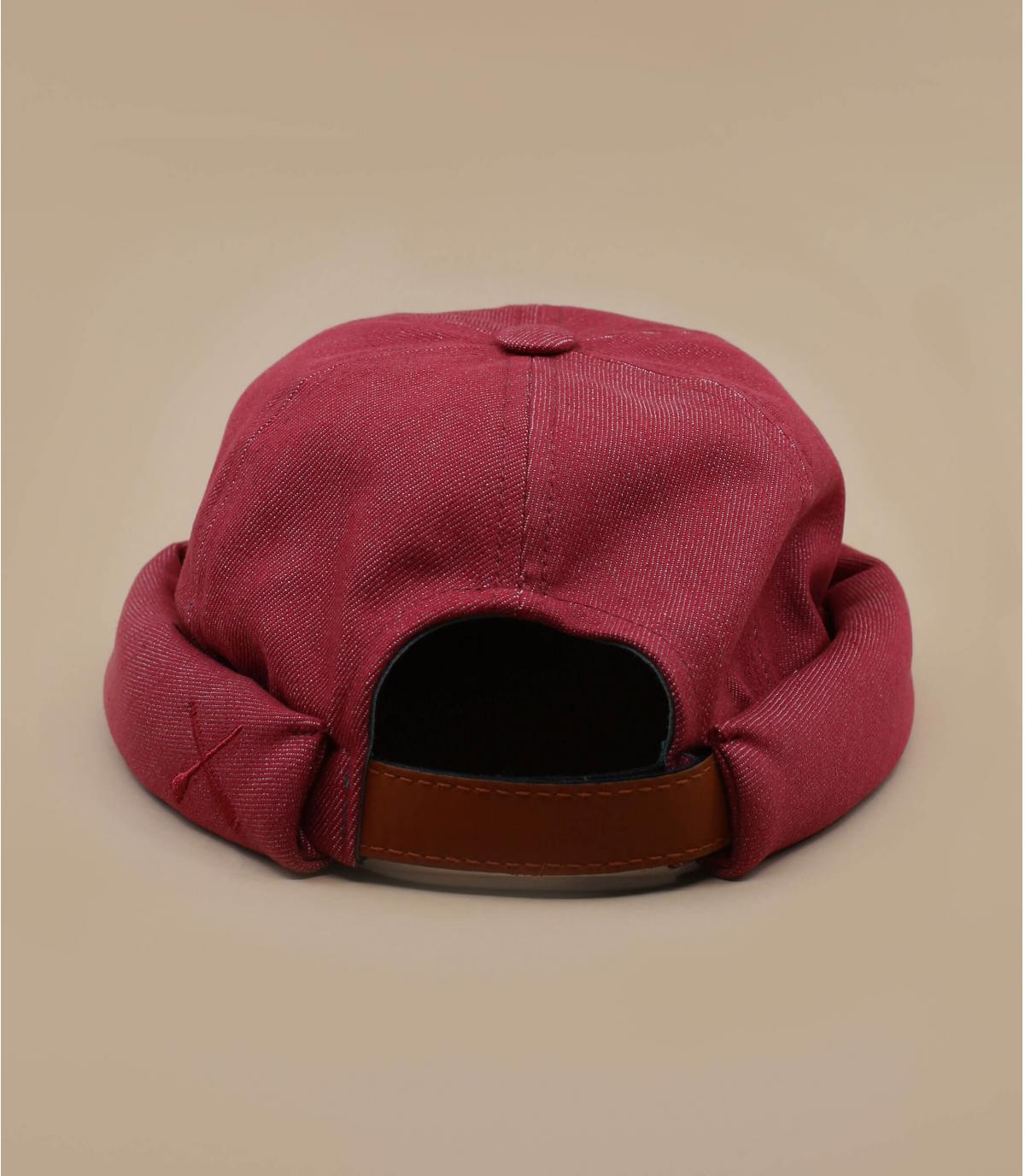 Gorro docker rojo