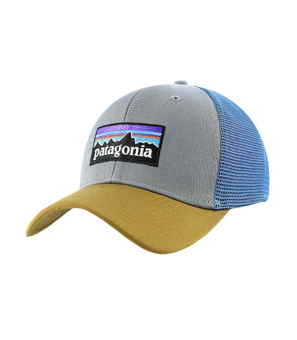Gorra beisbol gris - P6 logo trucker hat feather grey Patagonia imagen 1 ... 2855e044e52