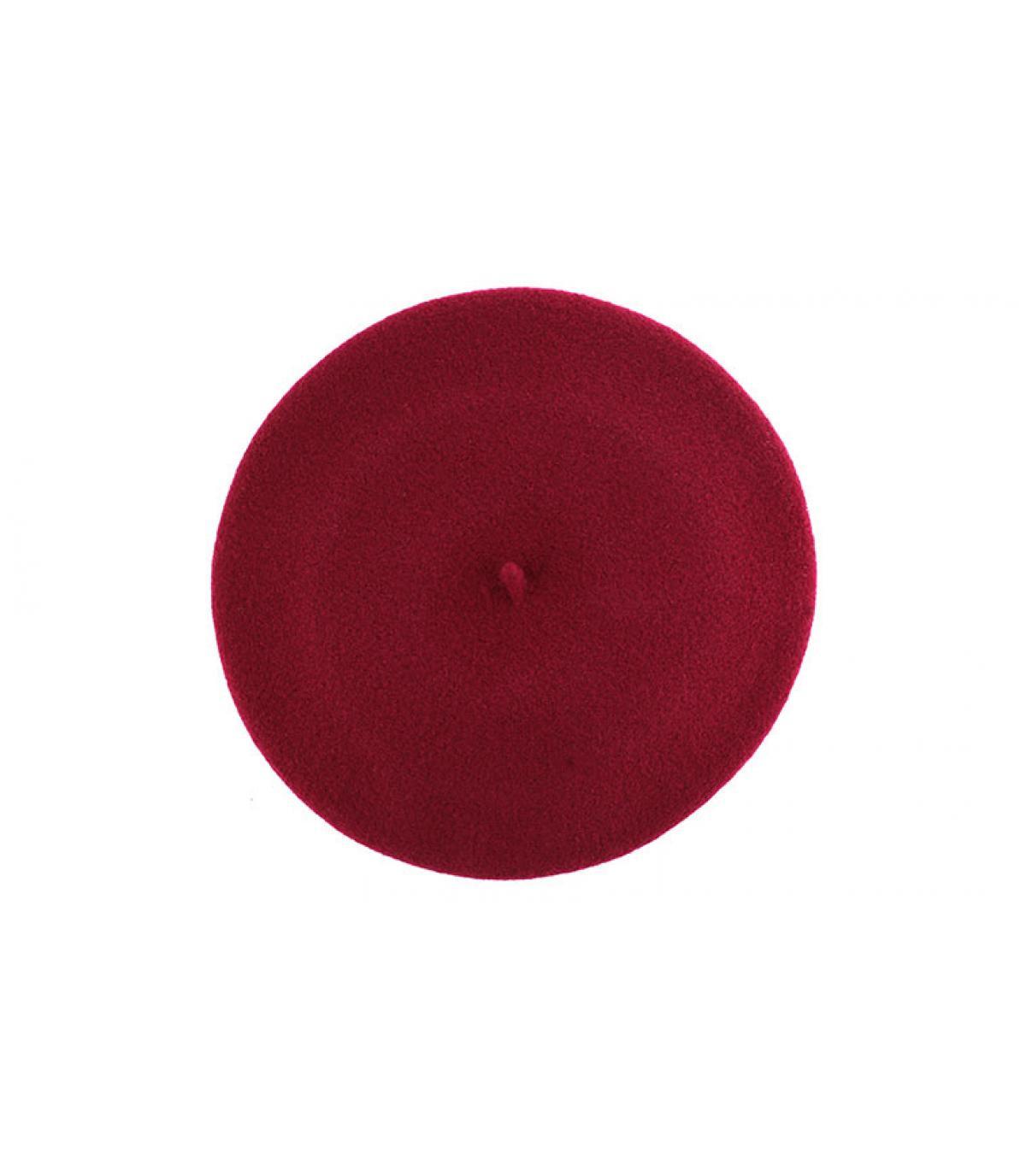 Boina elástico roja