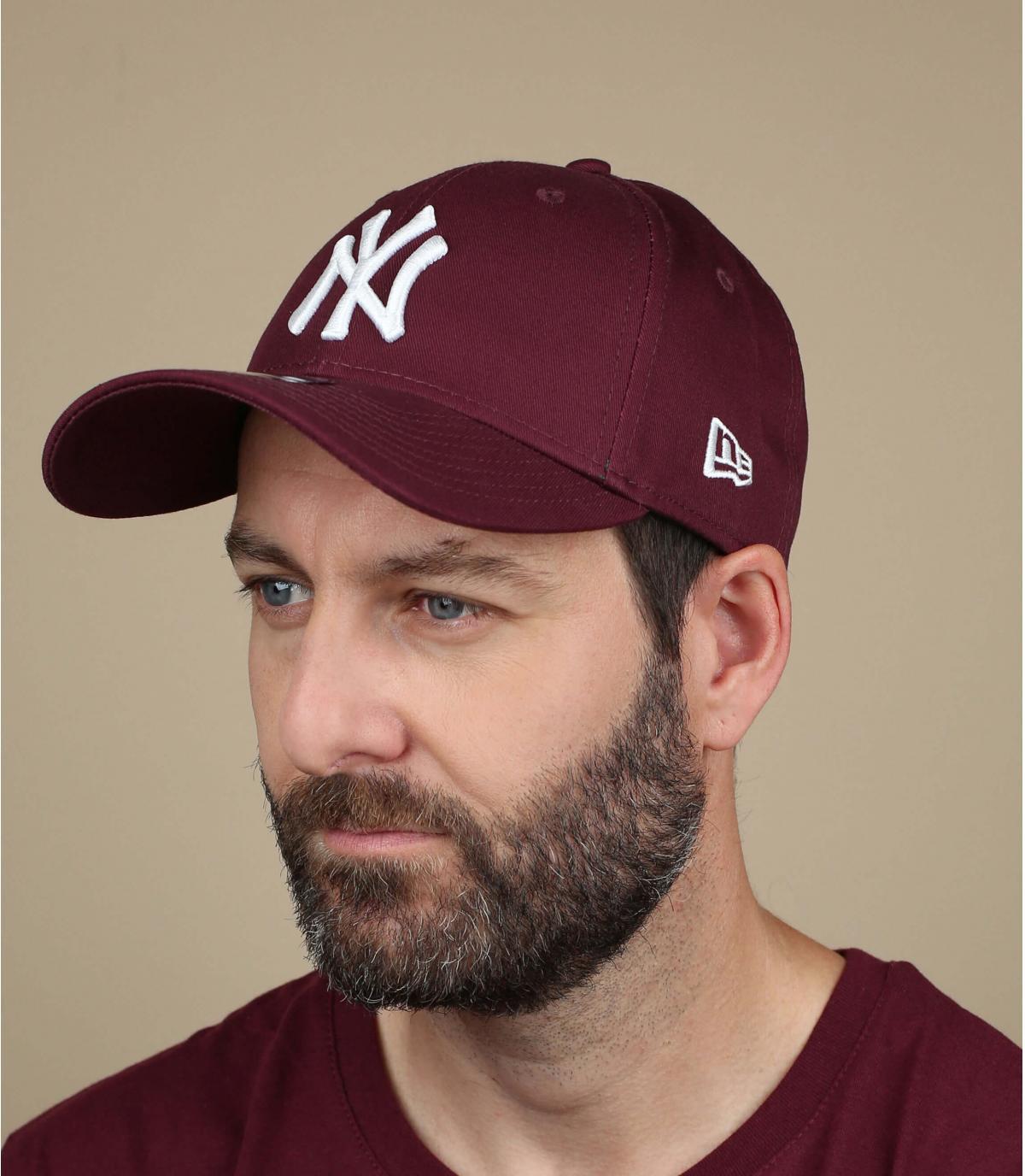 NY camionero gorra marrón