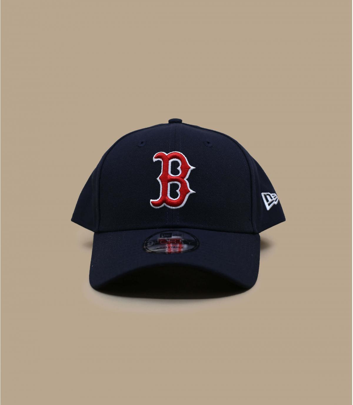 gorra con visera curvada Boston