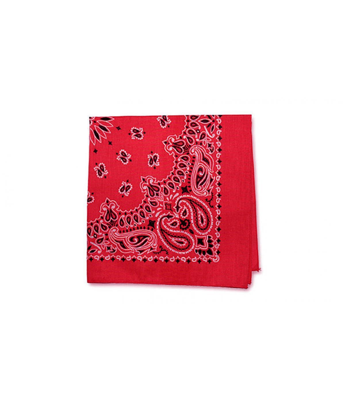 bandana rojo