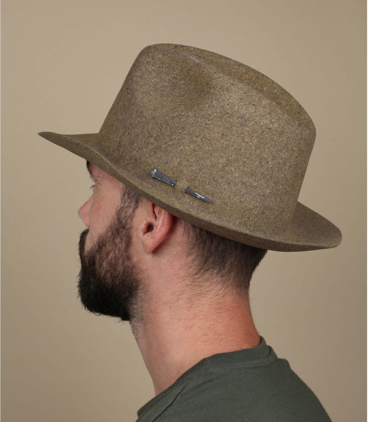 Sombrero sin cinta