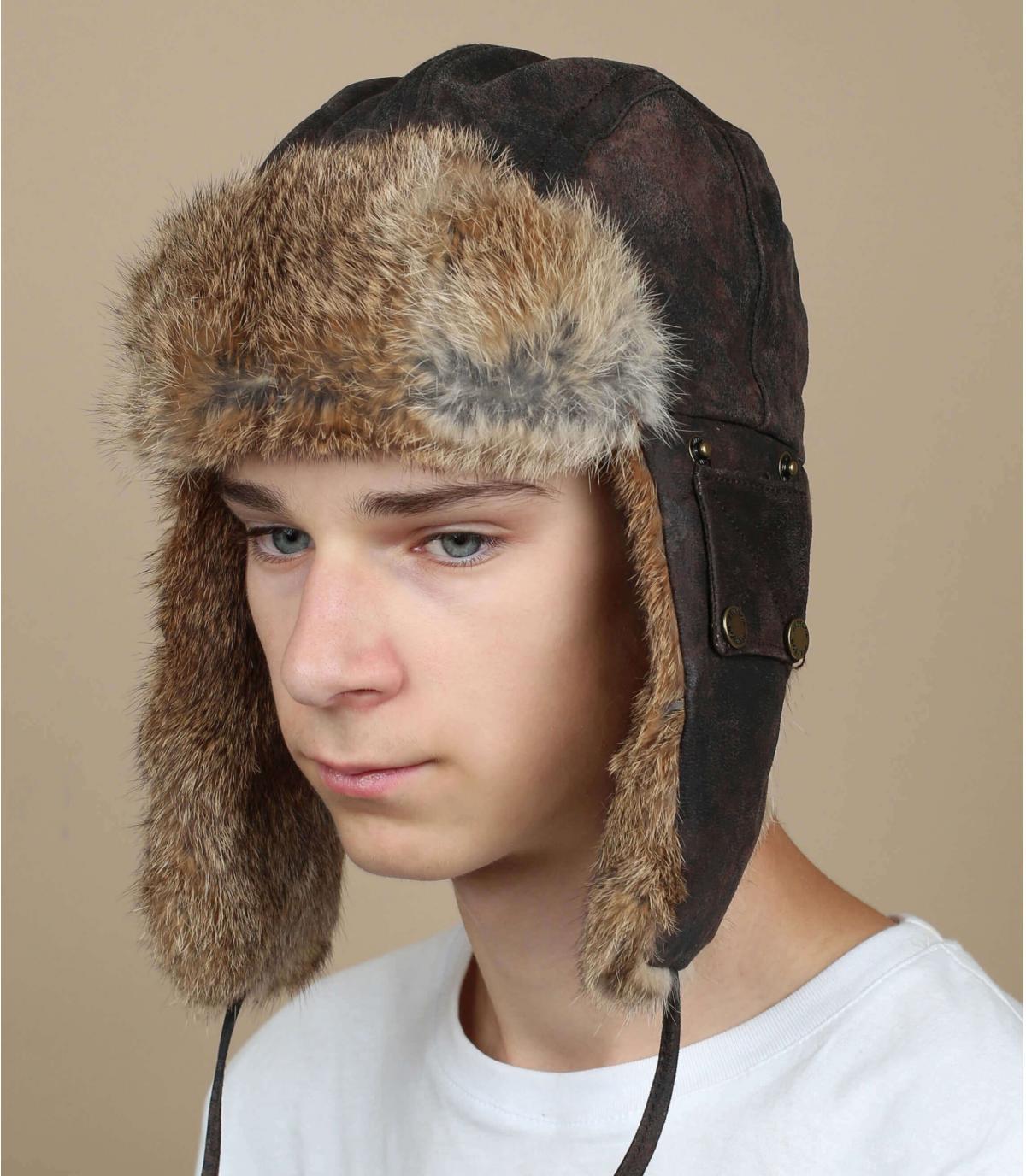 Gorro ruso Starkville brown