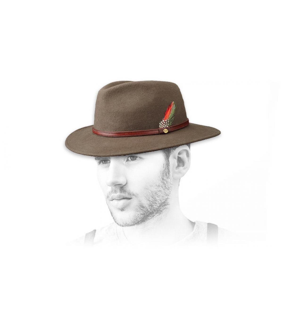 sombrero Stetson de color beige Atlanta