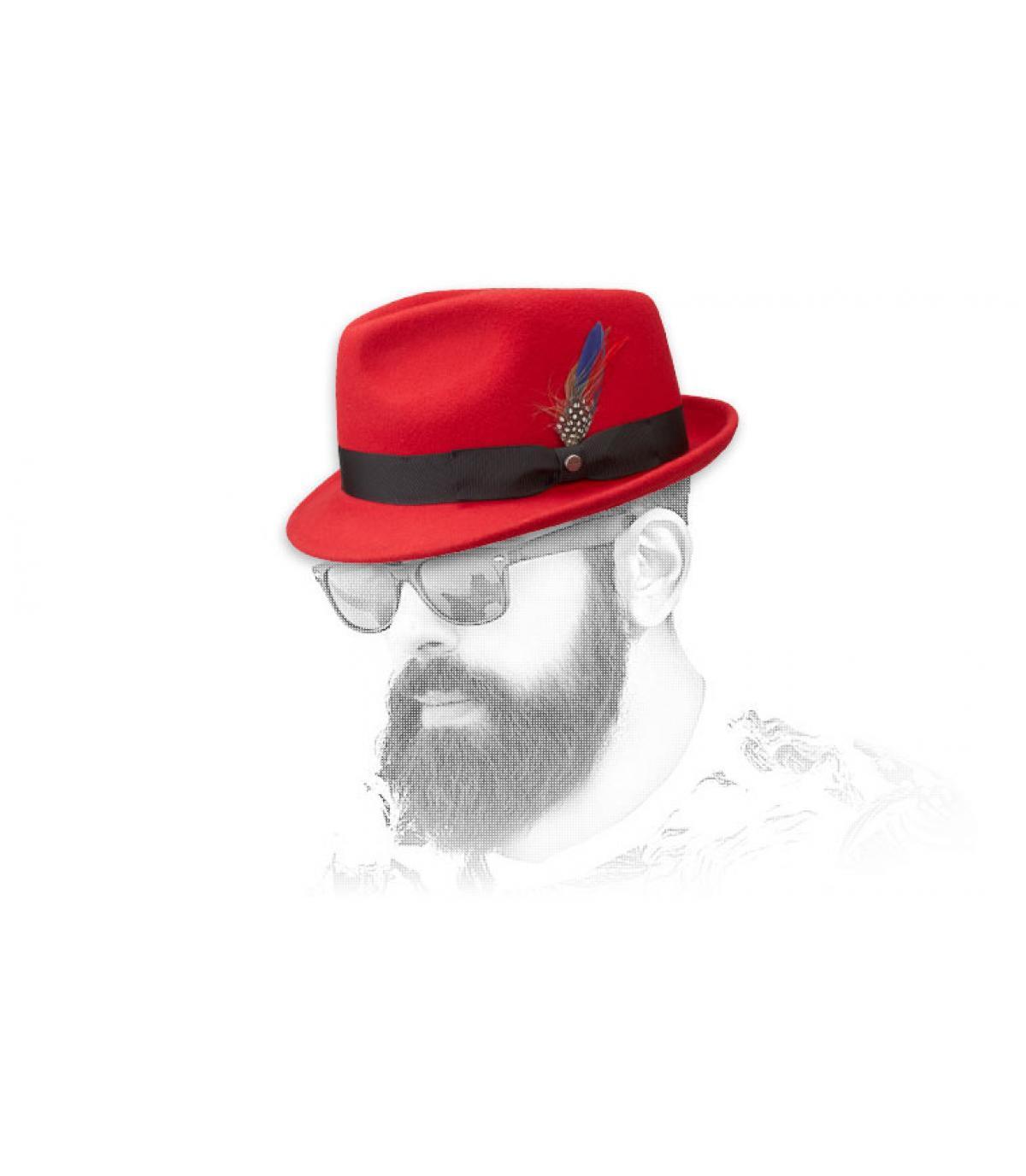 841a64da74c4b Sombrero rojo - Compra venta de Sombreros rojos. Primera sombrerería ...