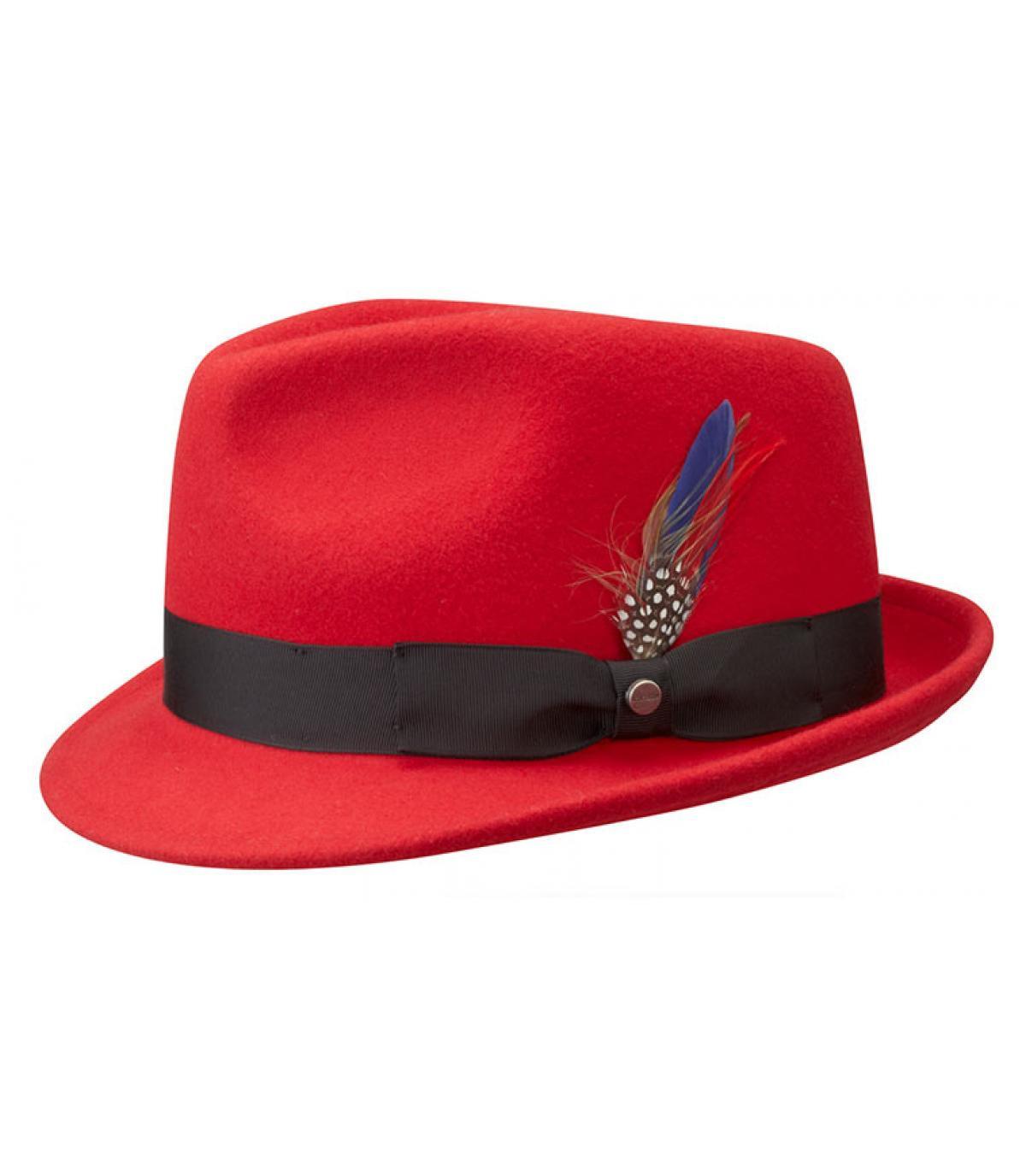 ba2810e99e2f1 ... Los hombres del sombrero rojo - Boston richmond red Stetson imagen 2 ...