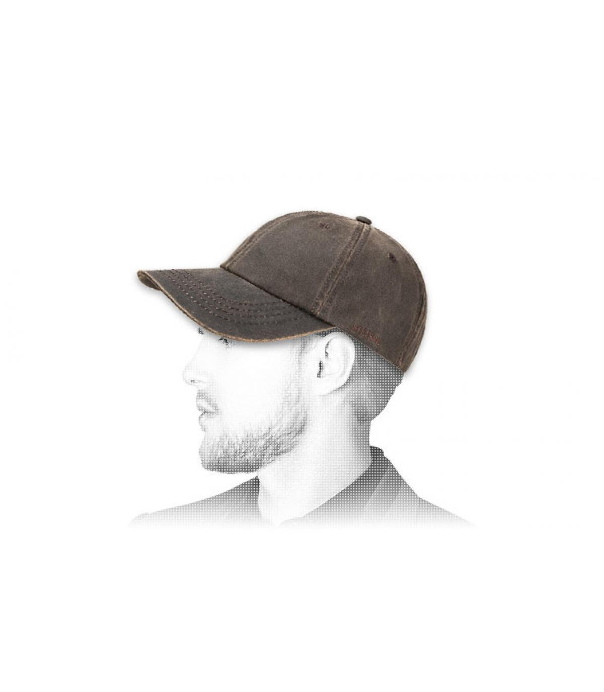 gorra de béisbol del algodón de la vendimia