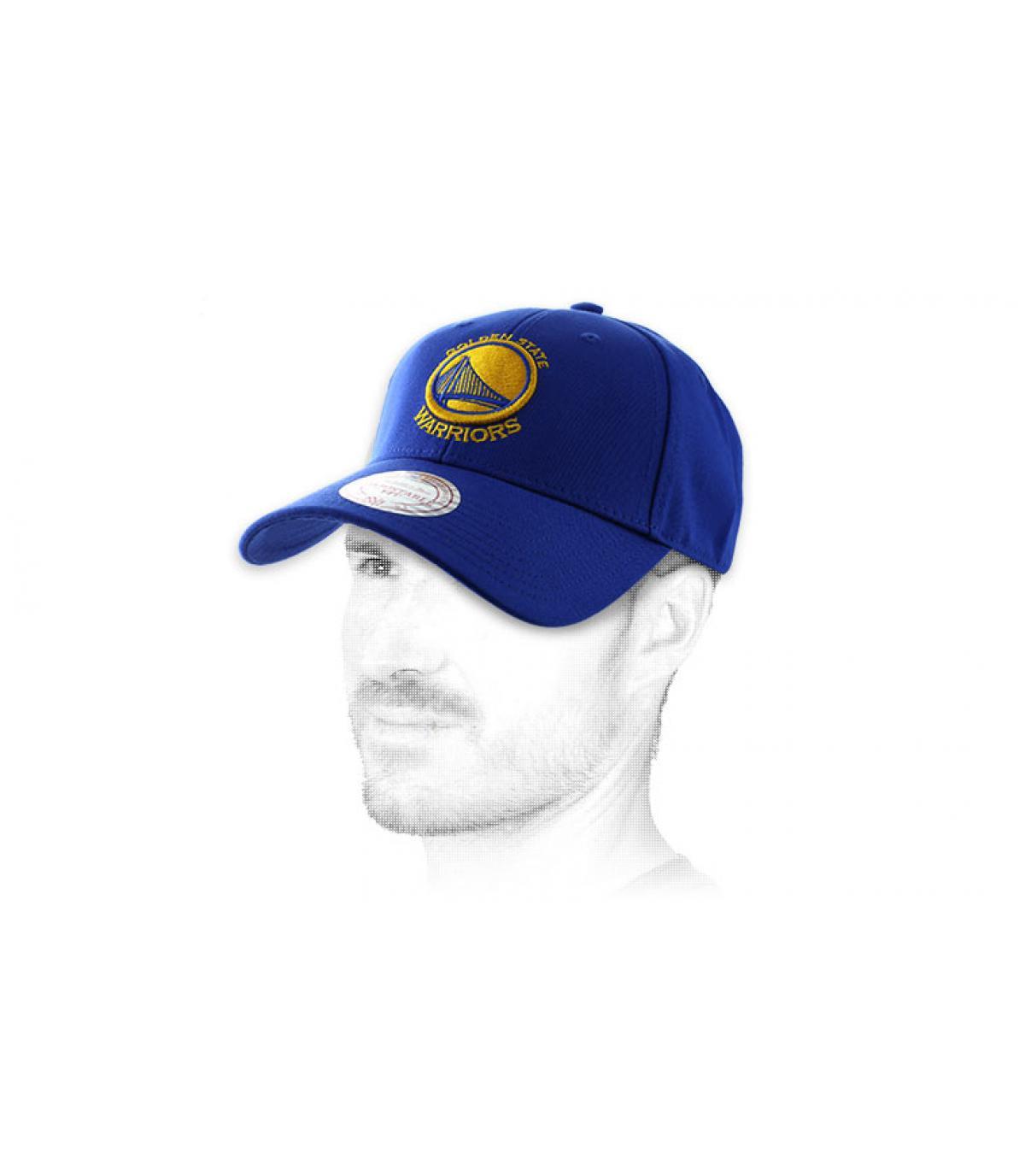Warriors Golden State gorra