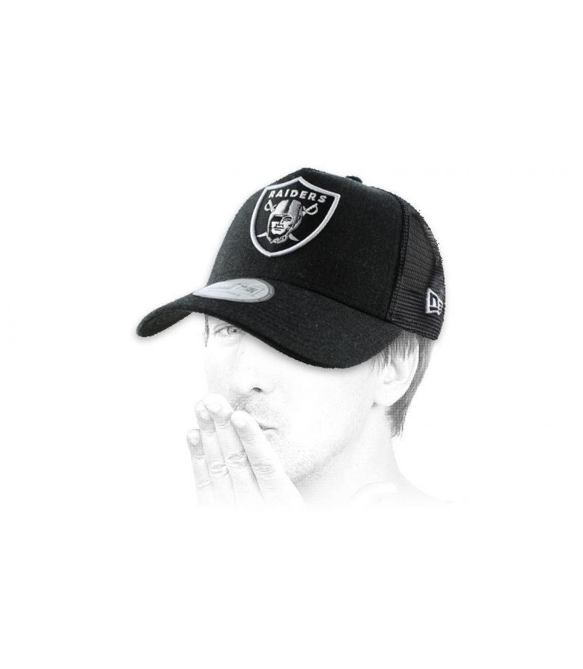 Raiders trucker cap