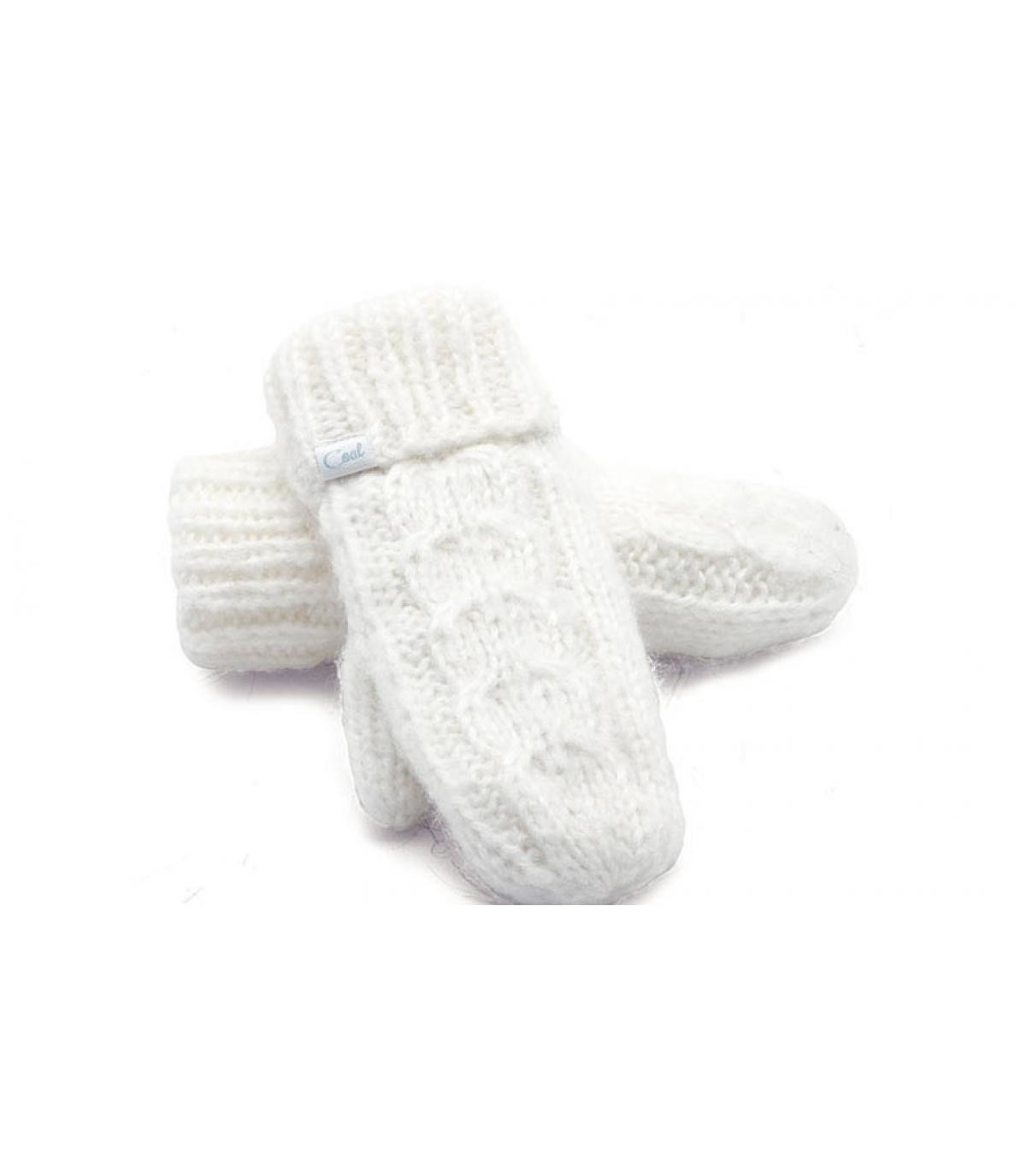 Guantes The shasta mitten blanco