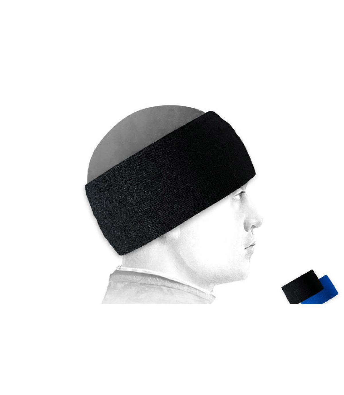 Bandeau ski negro