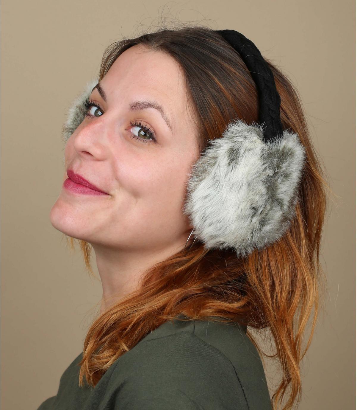 Fur Earmuffs rabbit