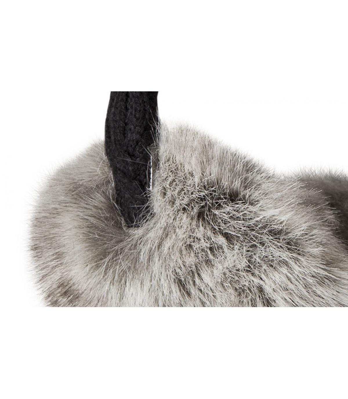 Detalles Fur Earmuffs rabbit imagen 2