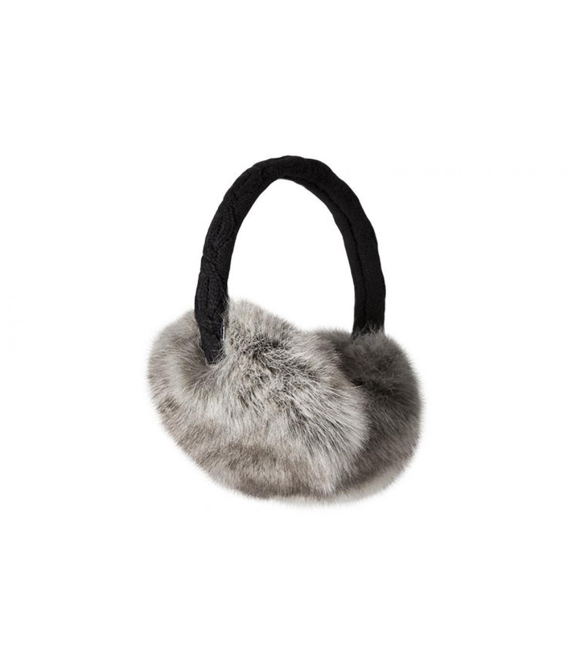 Detalles Fur Earmuffs rabbit imagen 3