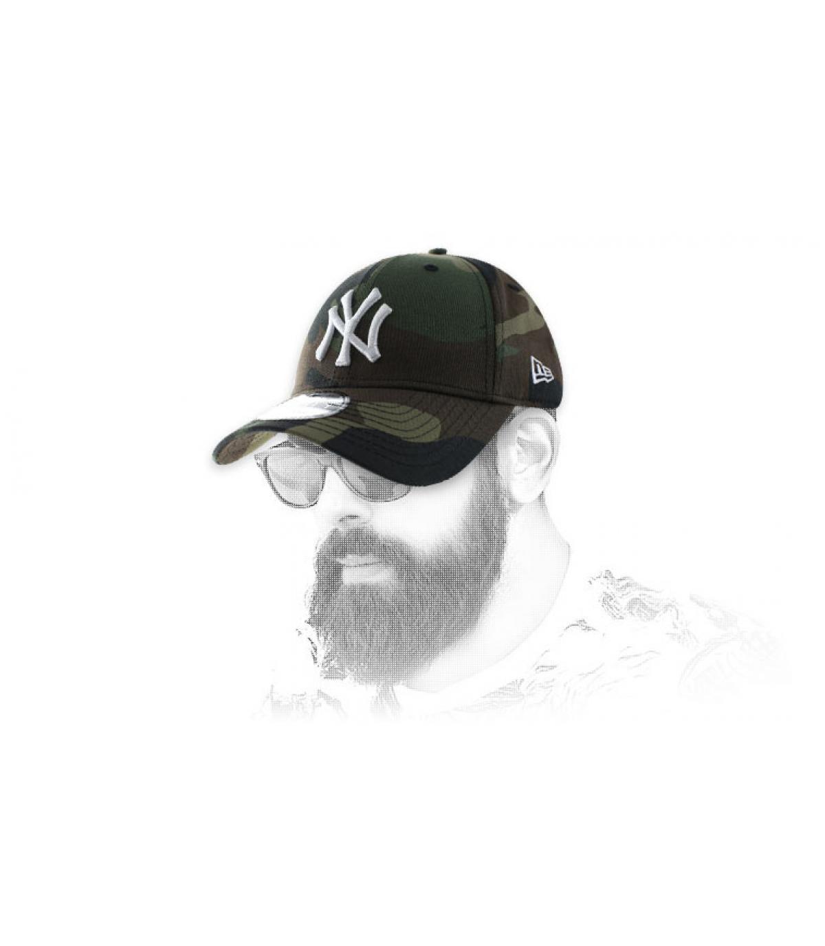 curva CAP camo NY