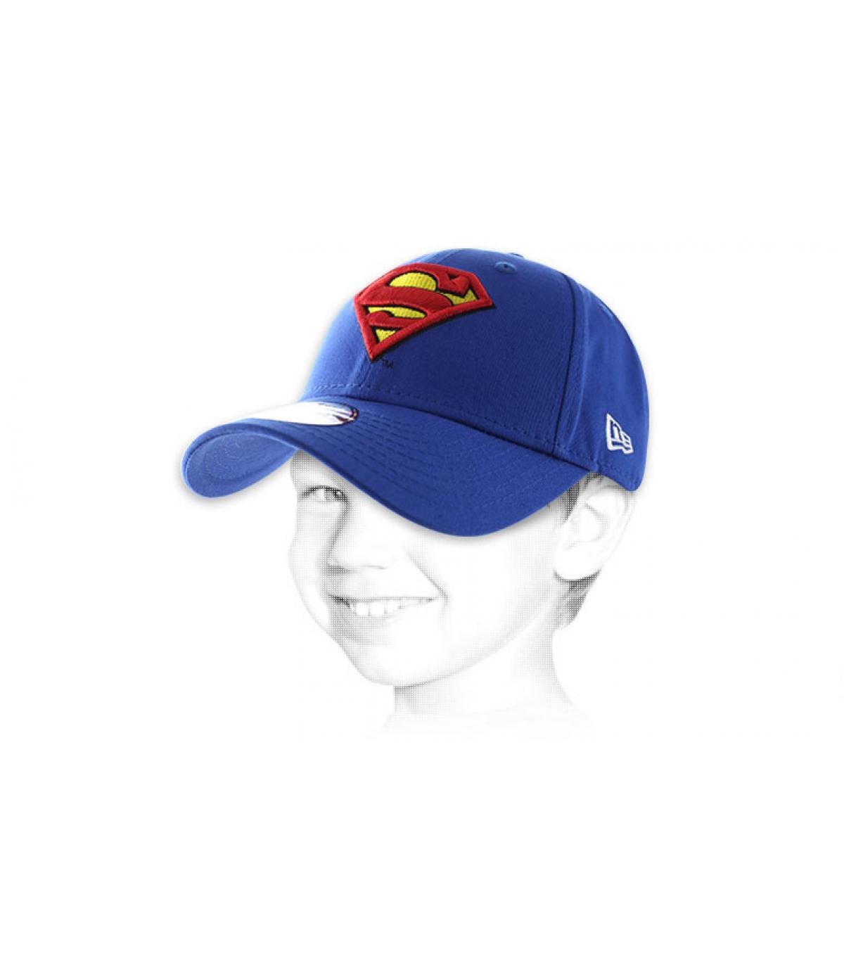 Superman niño casquillo