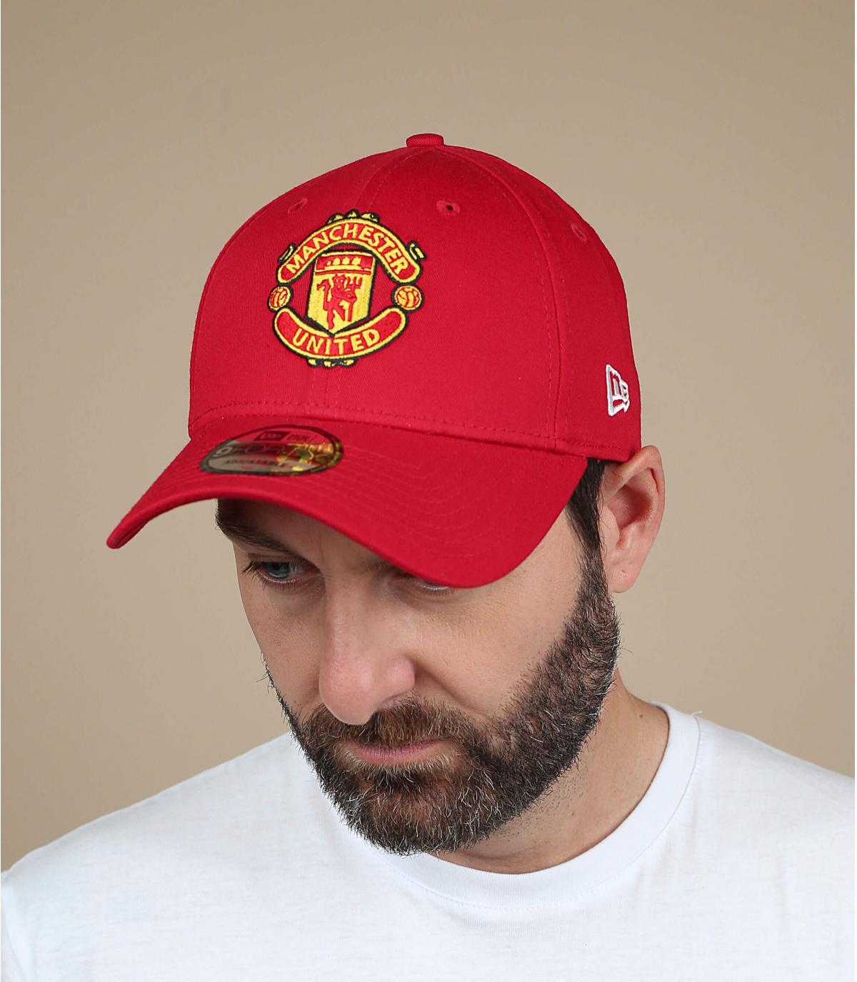 Gorra roja del Manchester United