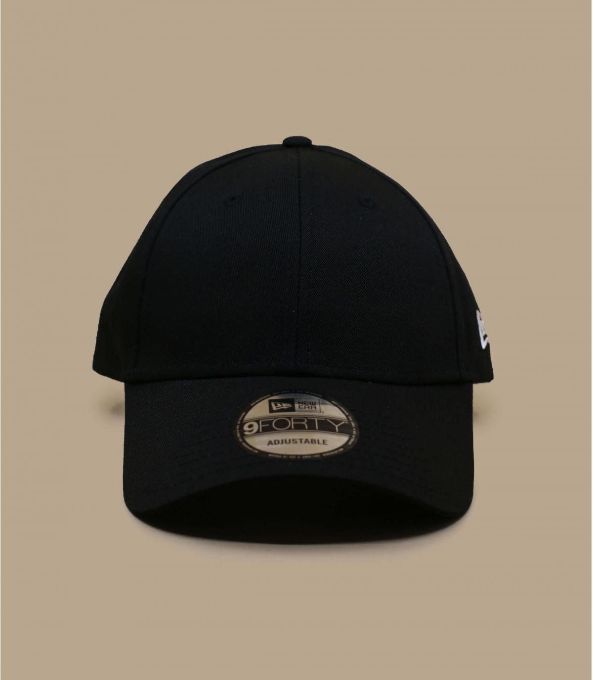casquillo negro con visera curvada Nueva Era