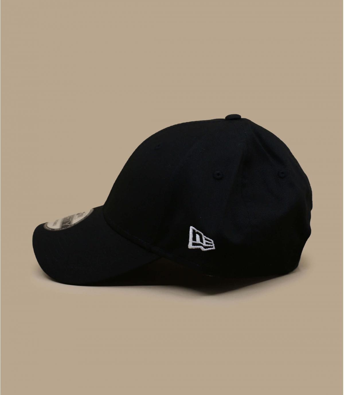 Detalles Basic Cap black white imagen 3