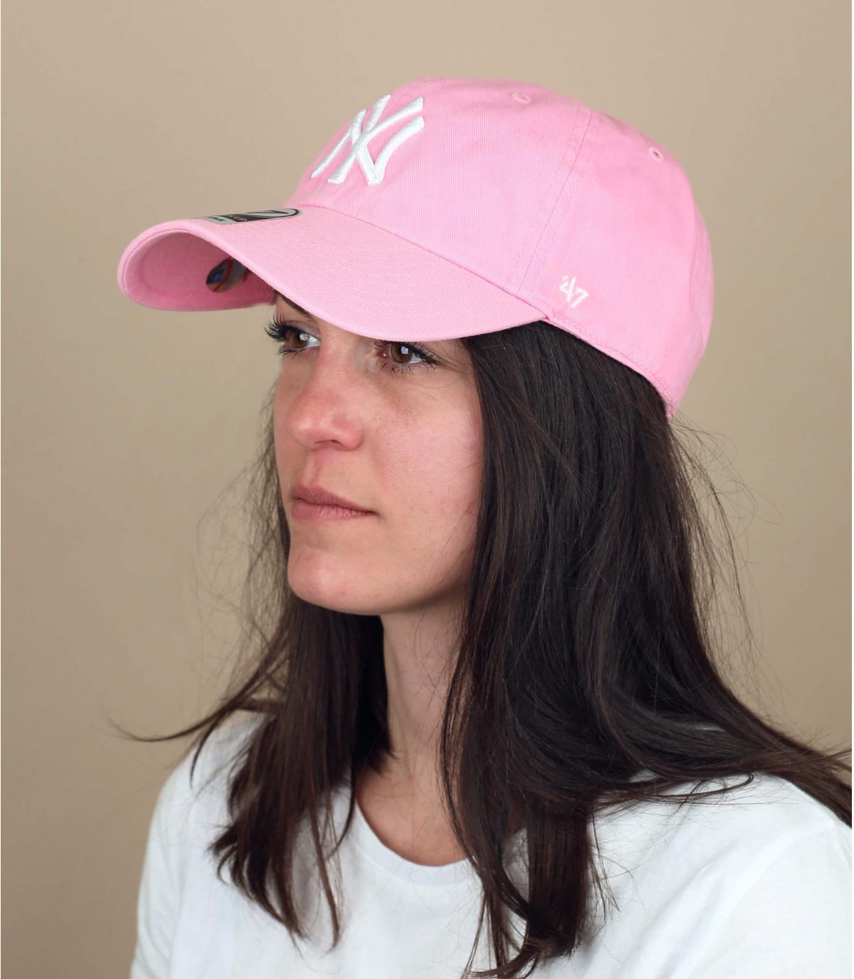 NY tapón de luz de color rosa