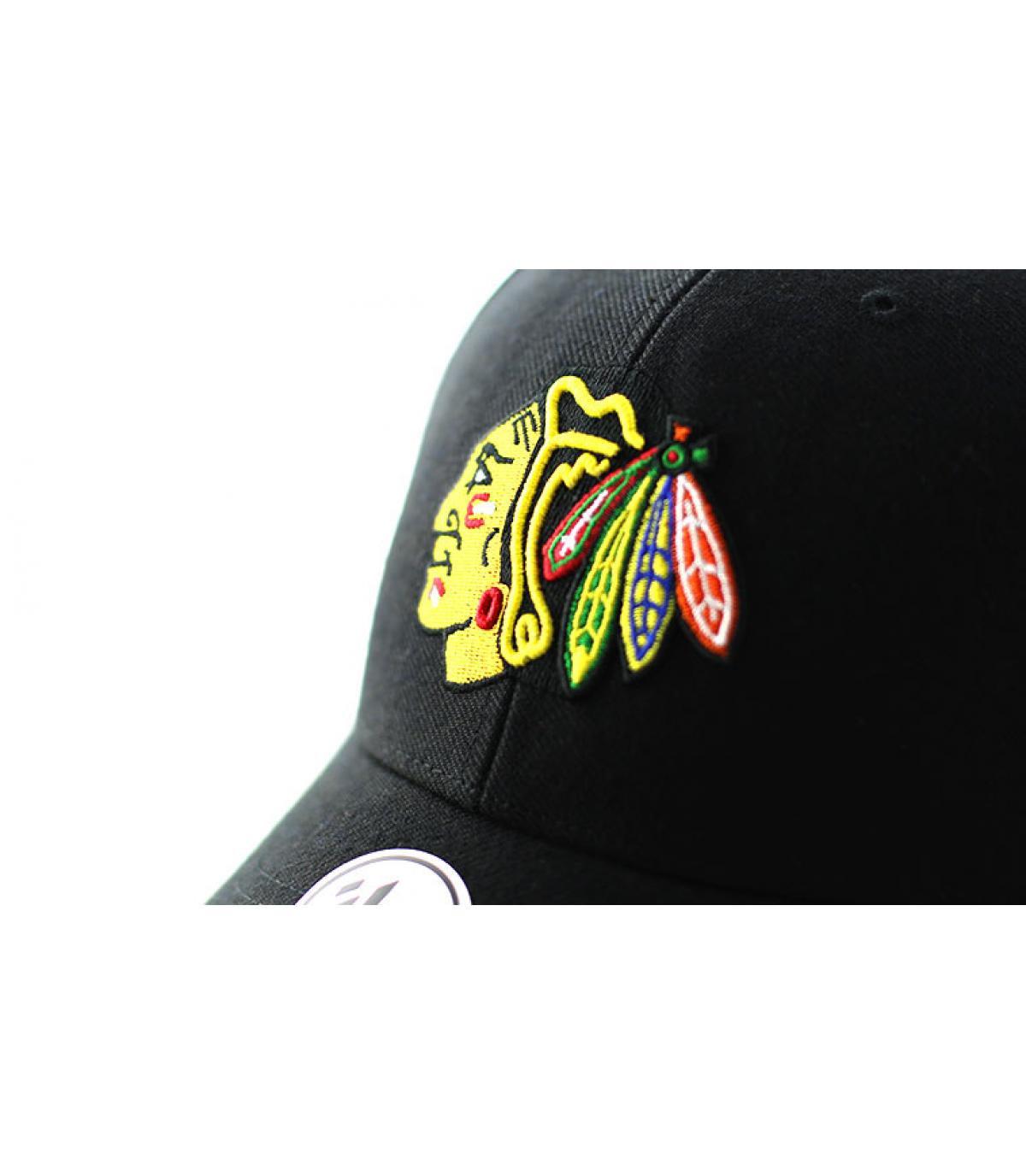 Detalles MVP Chicago Blackhawks black imagen 3