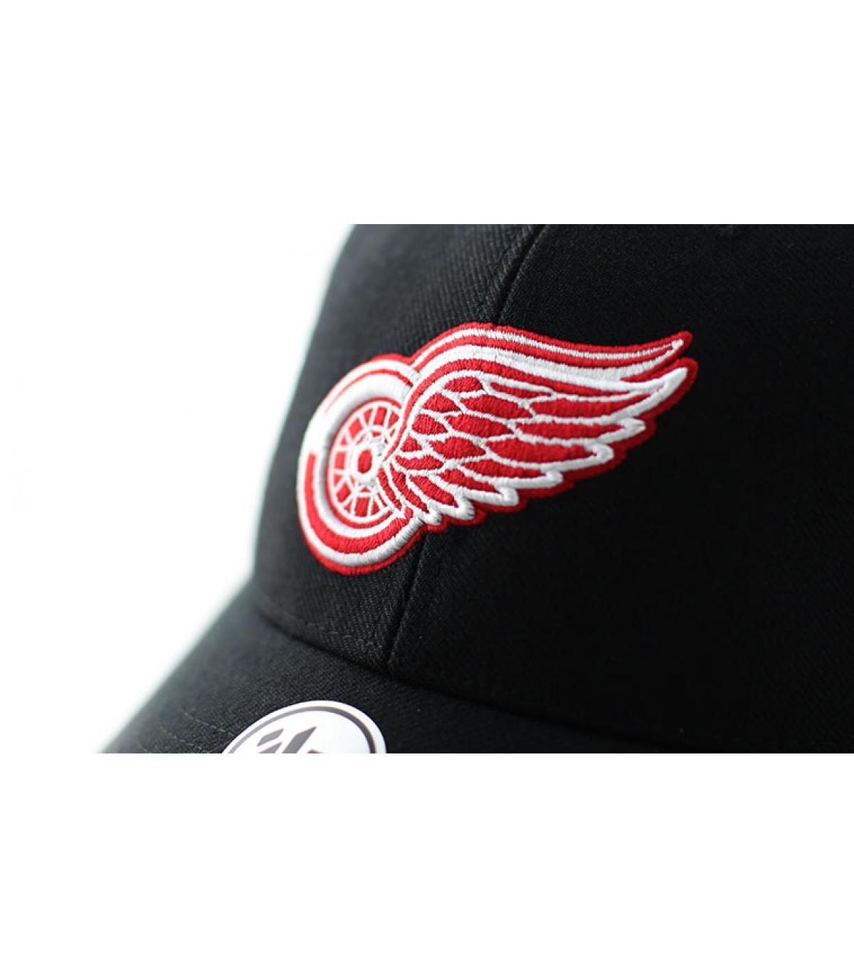 Detalles MVP Detroit Red Wings black imagen 3