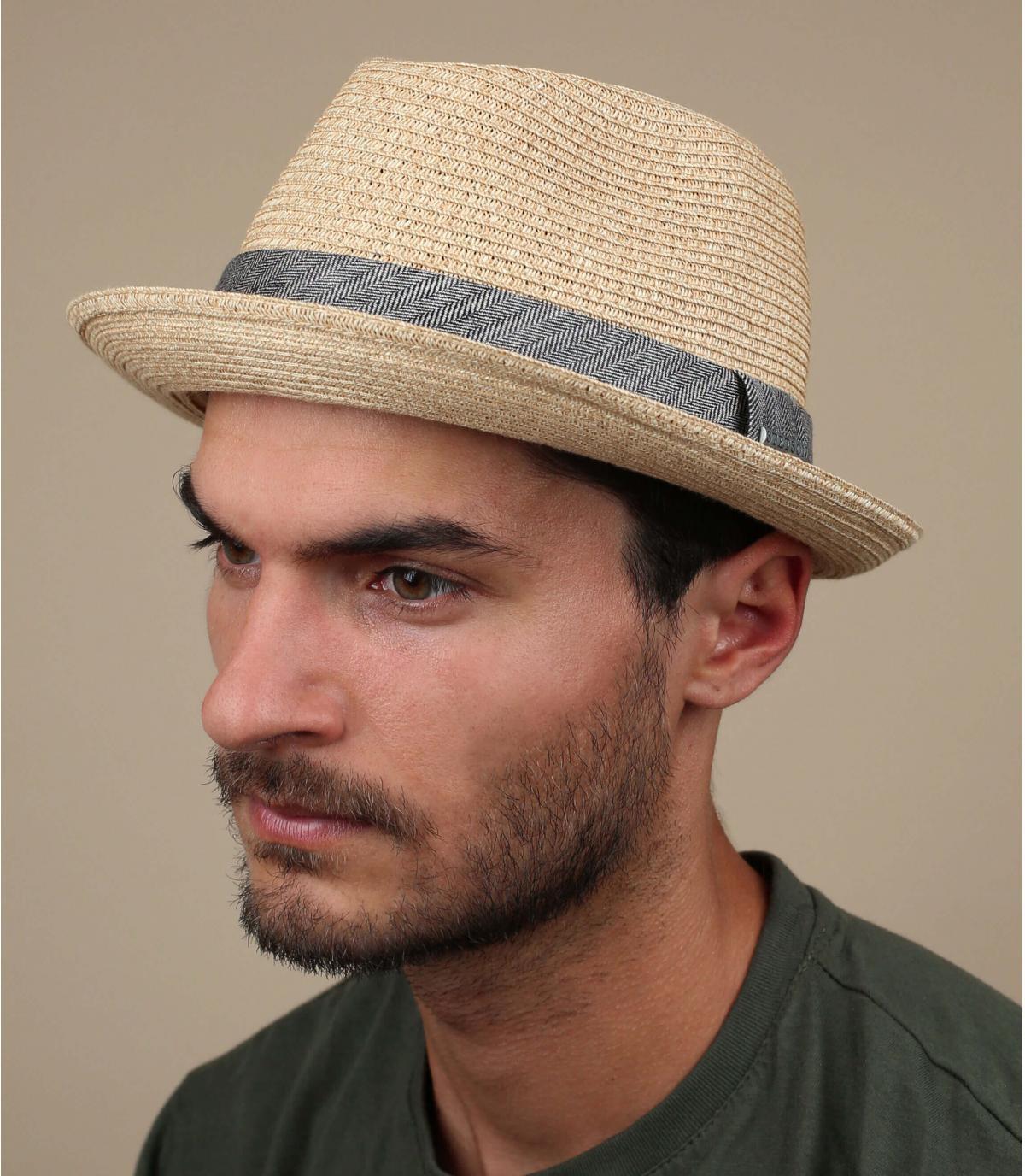 Stetson sombrero flexible trenza de la paja