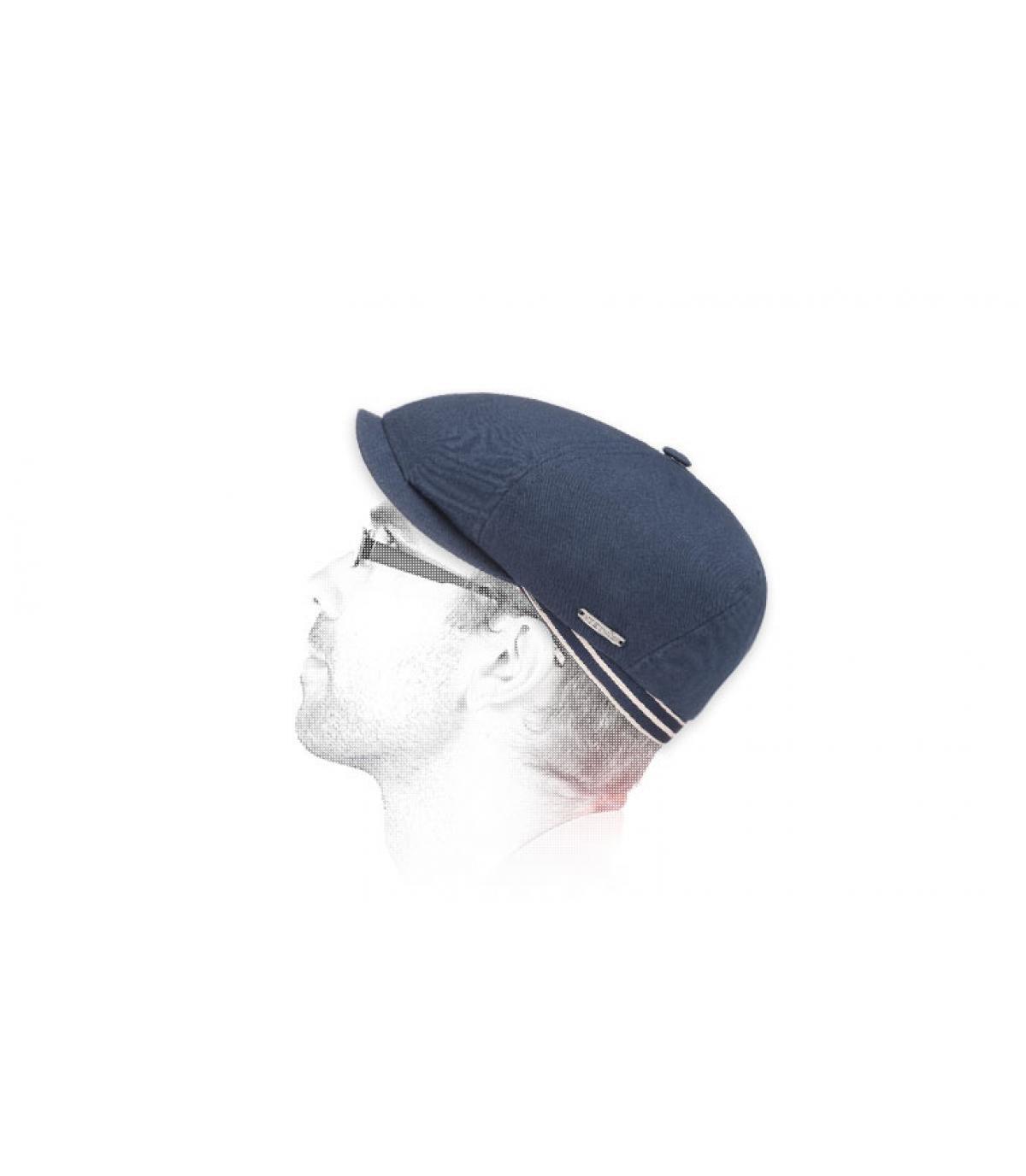 marino Stetson visera del vendedor de periódicos