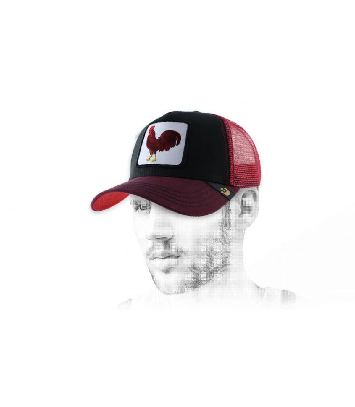 Goorin gorra gallo roja