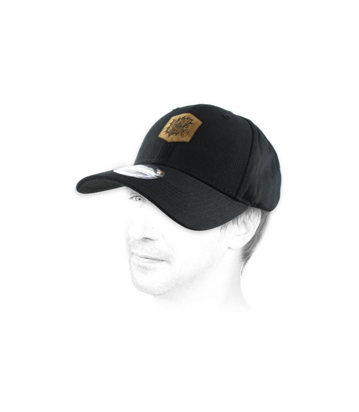Gota gorra negro en 5