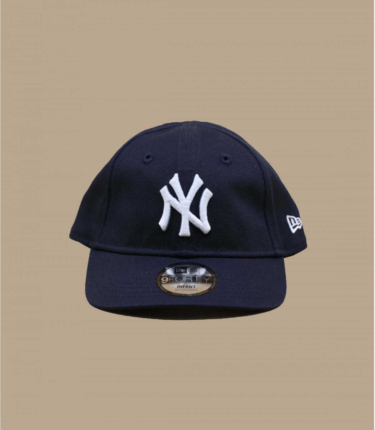 NY azul niño gorra