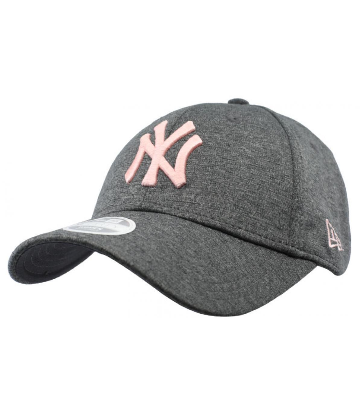 Detalles Cap NY Woman Tech Jersey gray pink imagen 2