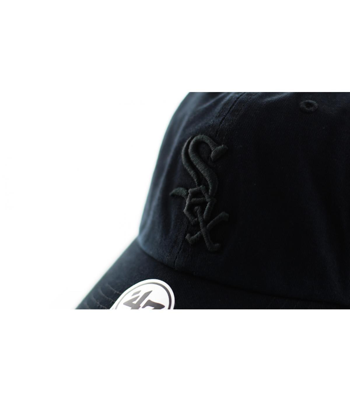 Detalles Clean Up Sox black black imagen 3