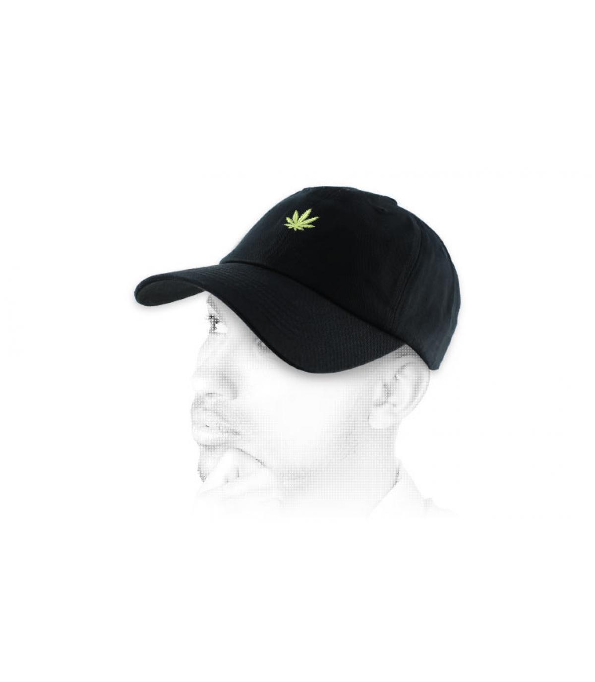 cannabis Cap negro