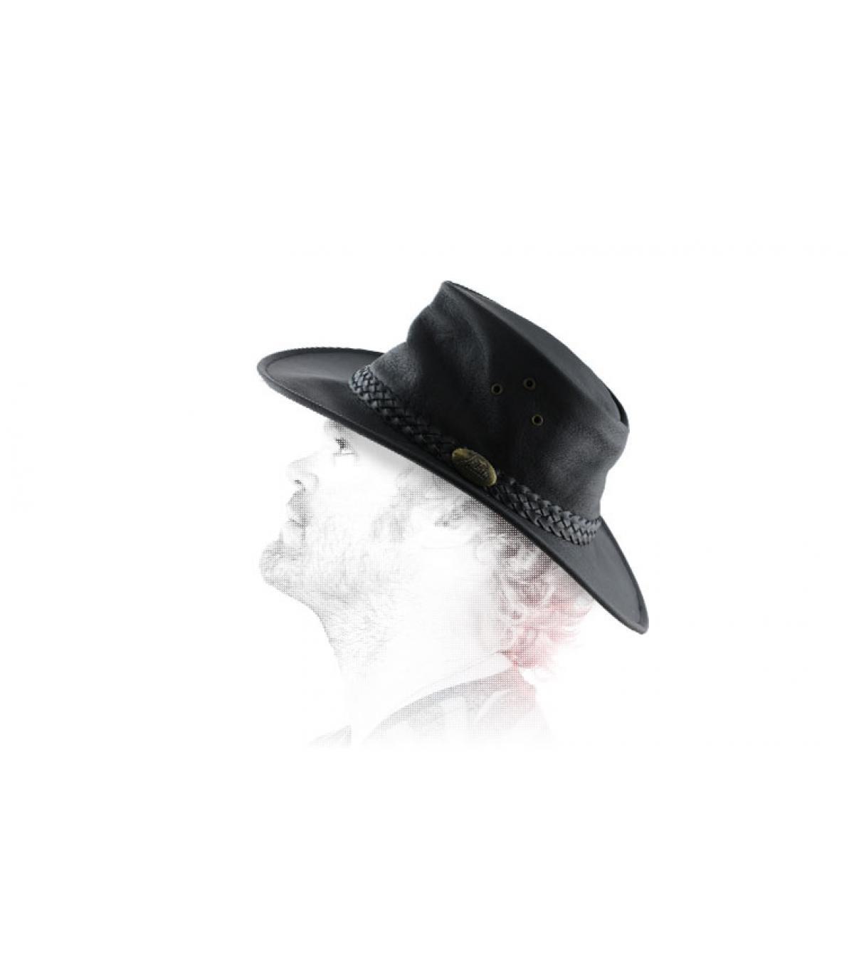 Australia sombrero de cuero engrasado