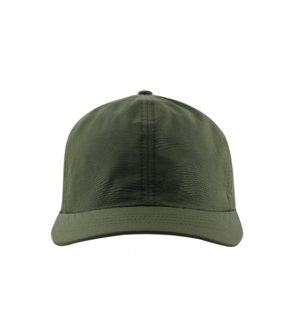 curva de gorra olive green
