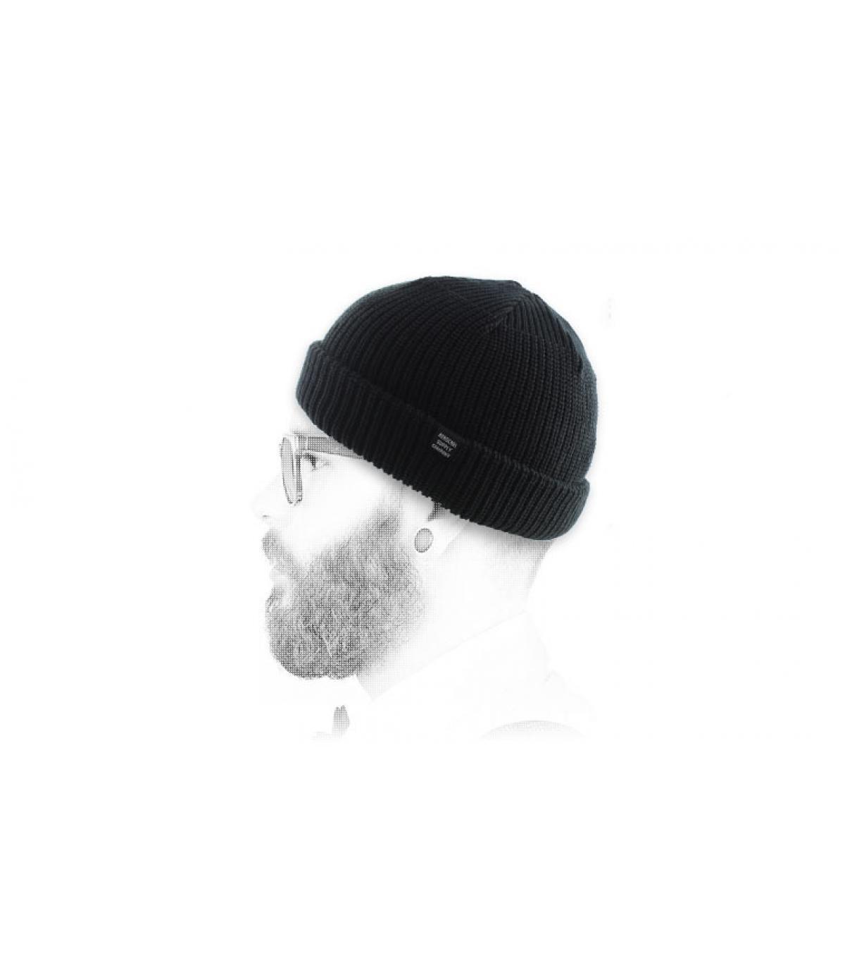Herschel ventana acoplable sombrero negro