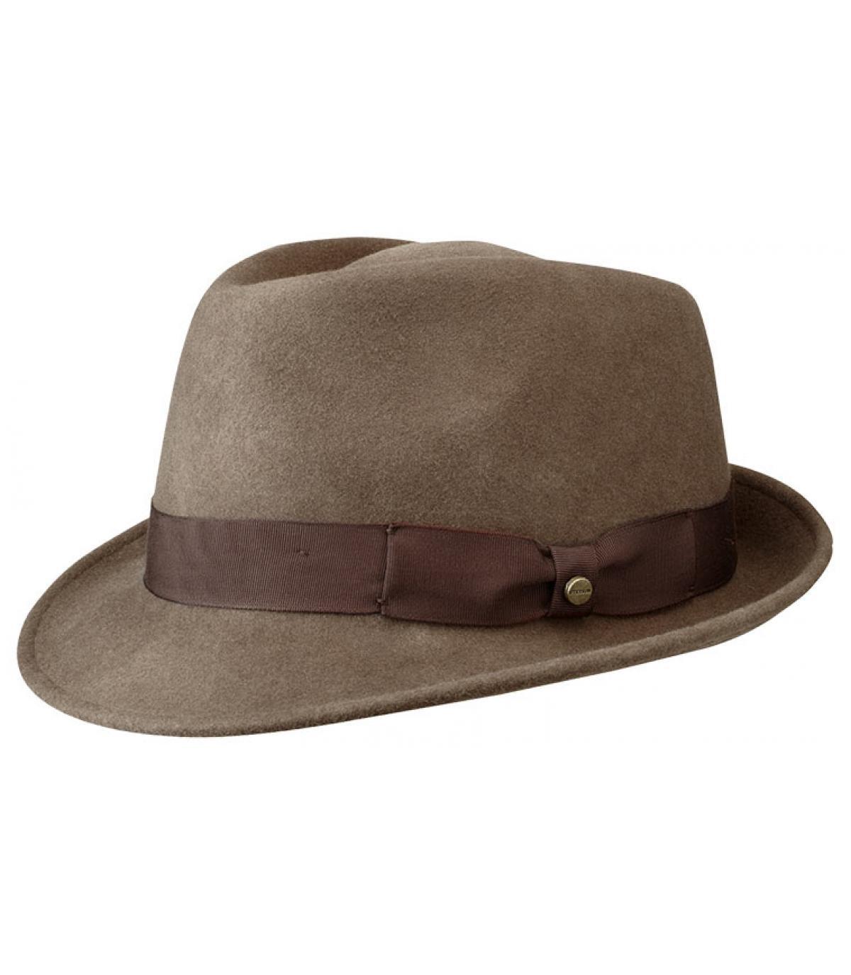 Sombrero hombre Stetson marrón