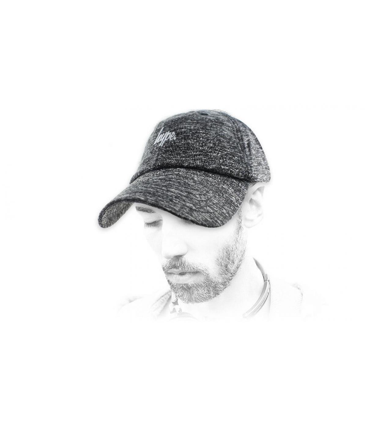 Bombo gorra heather gray
