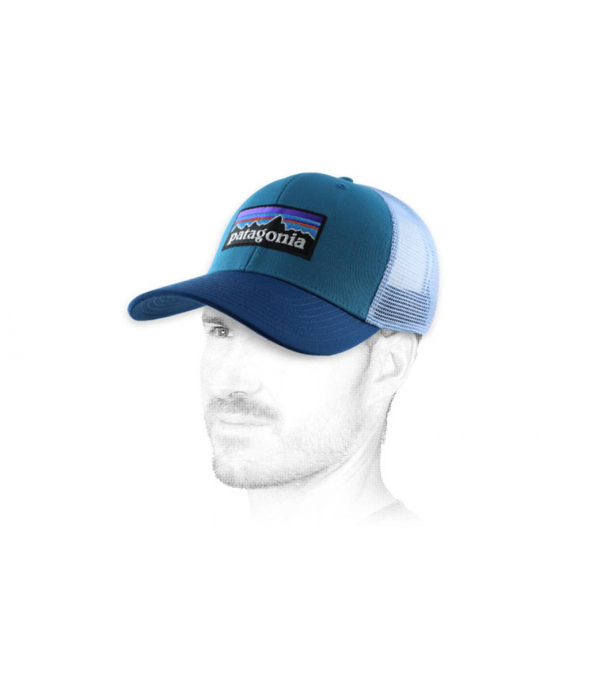 trucker azul Patagonia