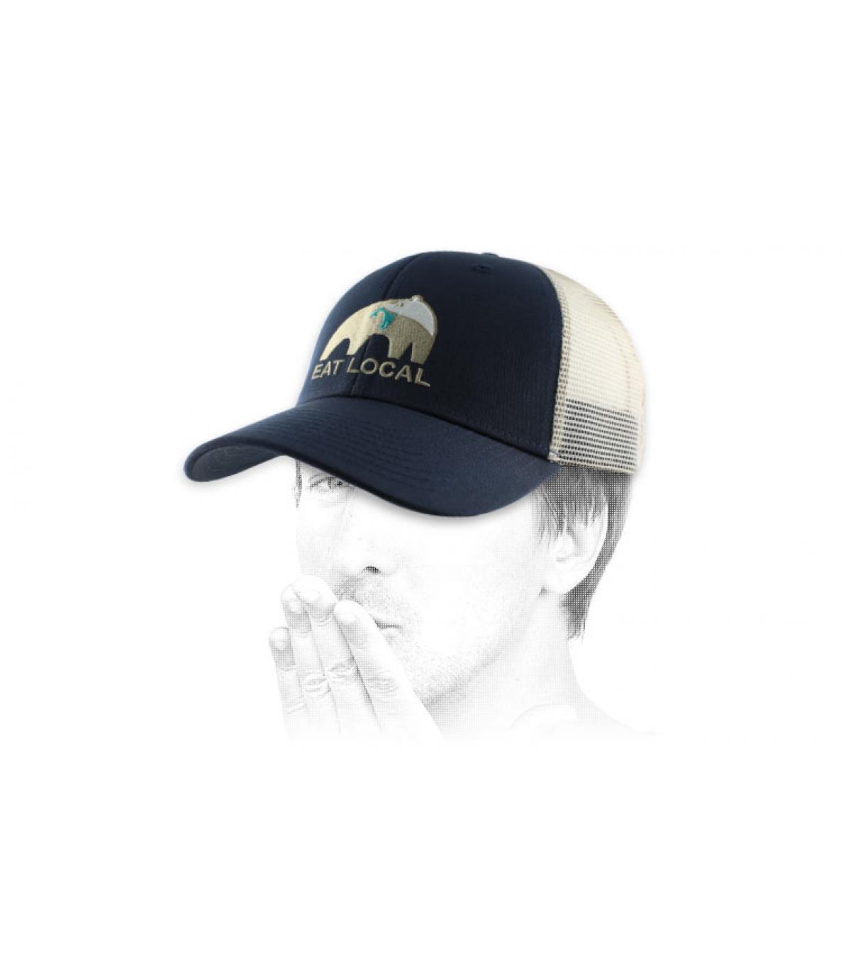 Patagonia oso azul del trucker