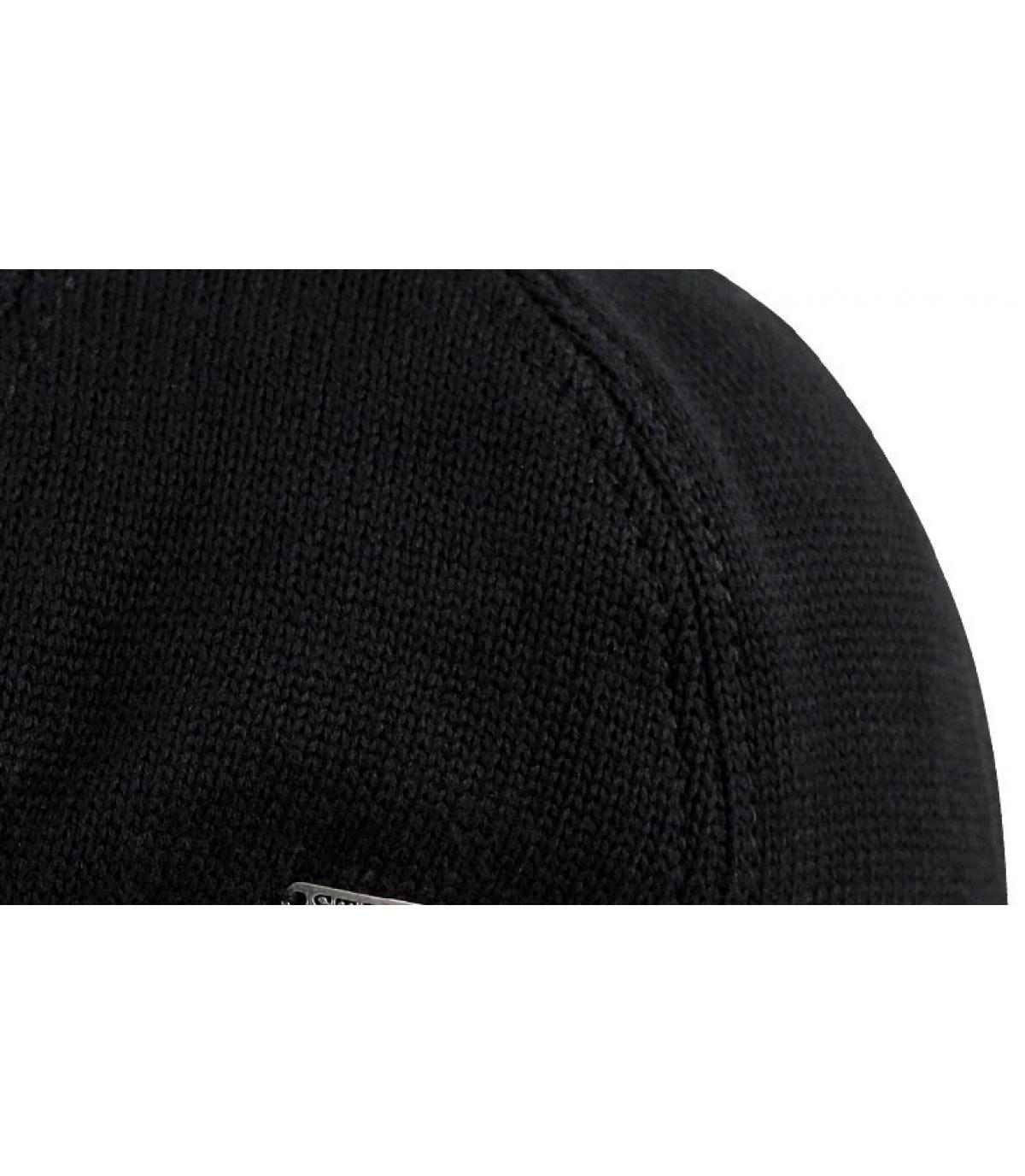 Gorra plate negro
