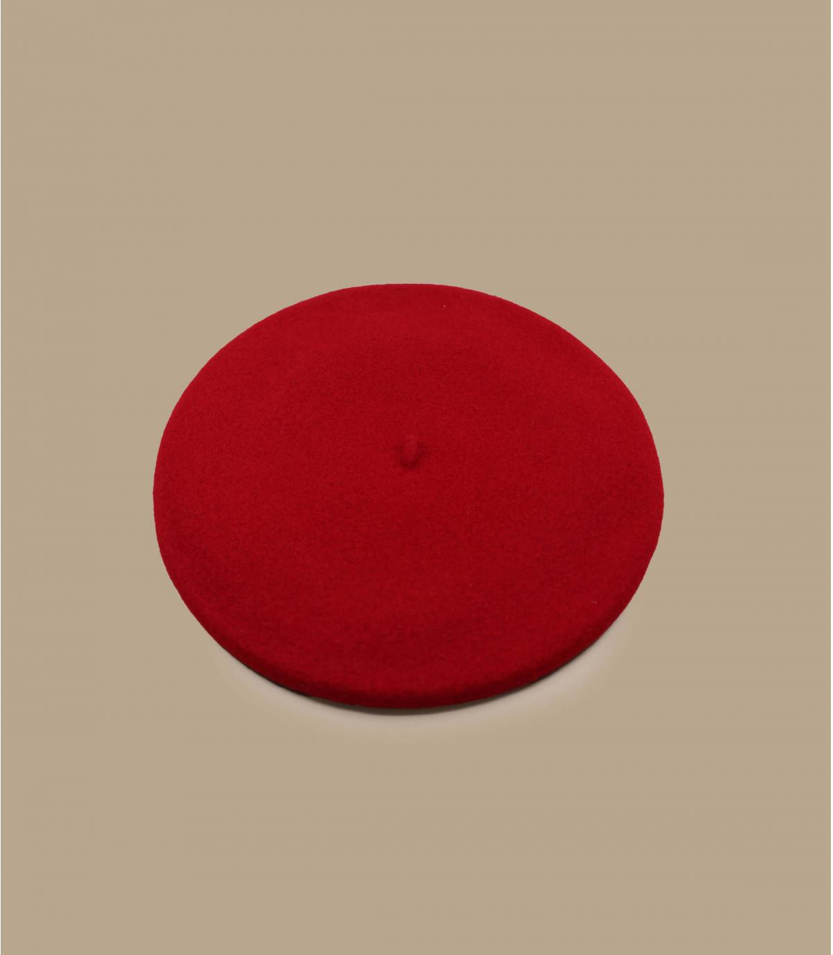 boina roja forrada