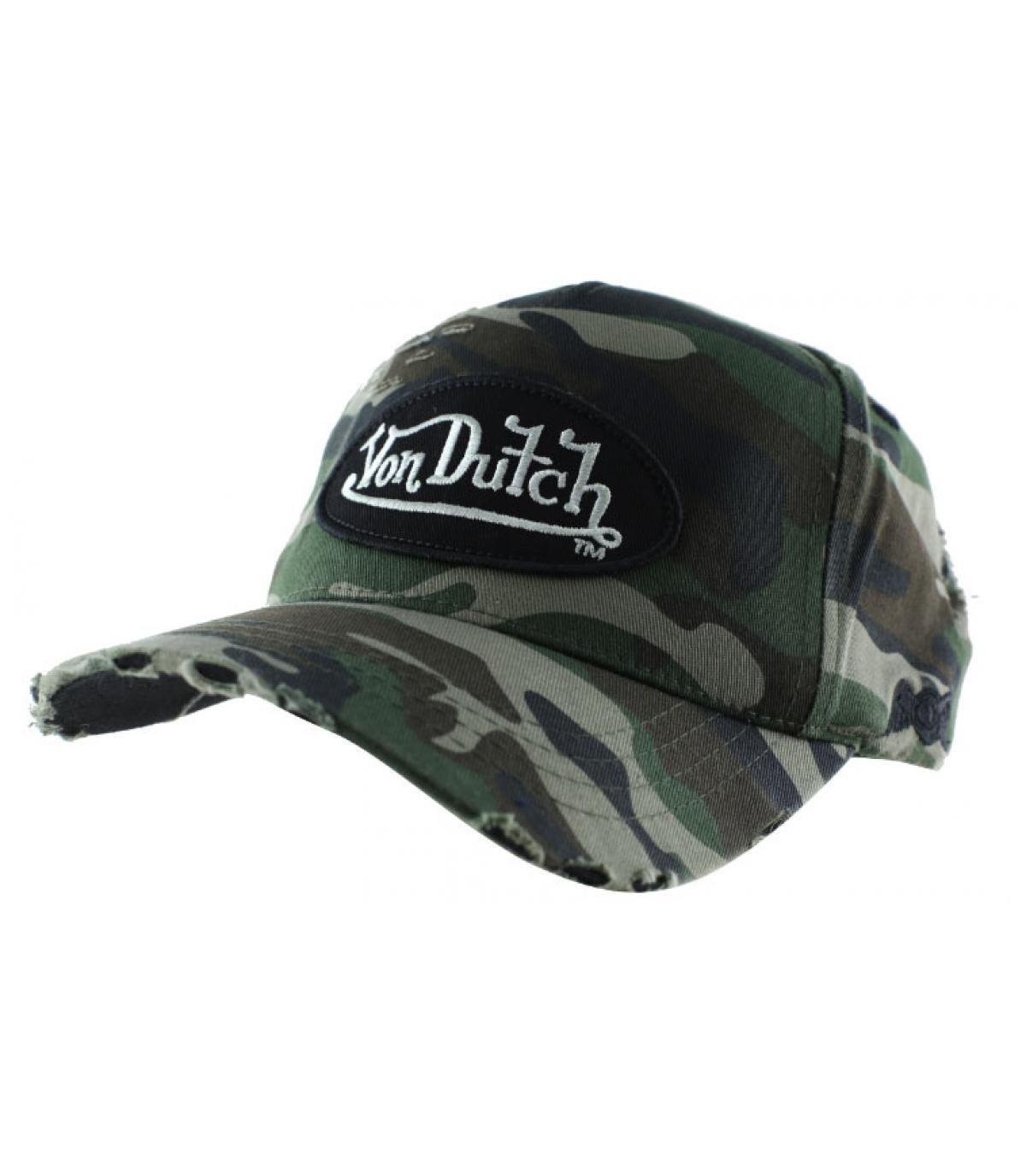 Von Dutch camo gorra